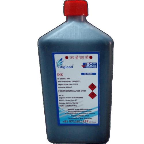 CIJ Alphajet Printer Black Ink