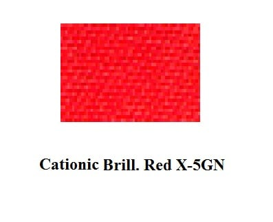 Cationic Brill Red X GRL RED 46