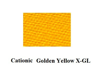 Cationic Golden Yellow X GL and Cationic Yellow 28