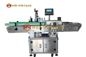 Automatic Round Bottle Rubbing Roll Label Machine (Vertical Type) QL-821