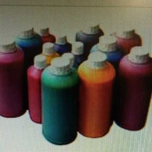 Multiple Color Solvent Printing Ink