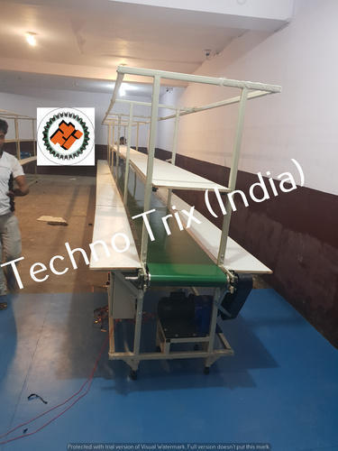 Flat Belt Conveyors with Working Platform