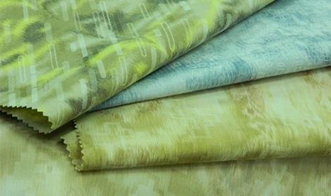 Warp Printed Jacquard Fabric