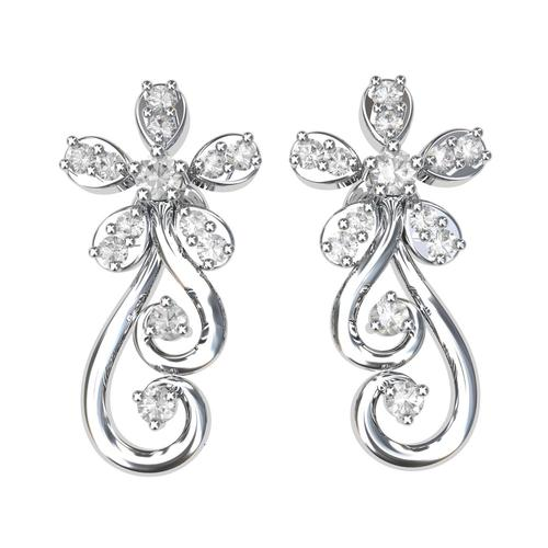7aa8731c0 Diamond Earrings In Kolkata, Diamond Earrings Dealers & Traders In ...
