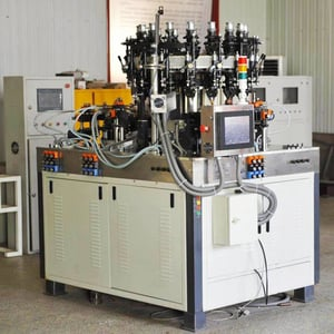 Glass Vial Making Machine with 16-Head Double-Chuck
