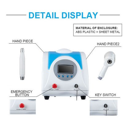 White Effective Tattoos Removal Machine