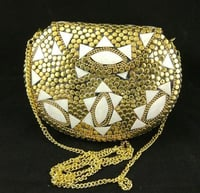 Handmade Brass Clutch Purse Evening Bags
