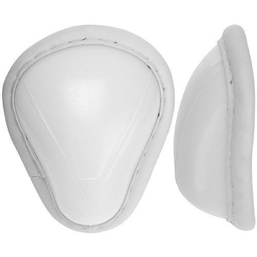 White Cricket Abdominal Guard