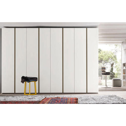 White Modular Bedroom Wardrobe