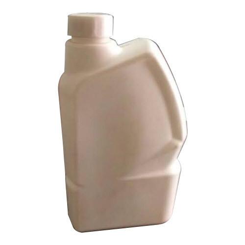 White Narrow Mouth Coolant Bottle