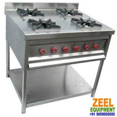 "Continental Four Burner Gas Stove Dimension(L*W*H): 36""X36""X34"" Inch (In)"