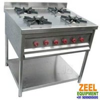 Continental Four Burner Gas Stove