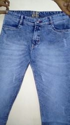 High Ultra Violet Fabric Jeans