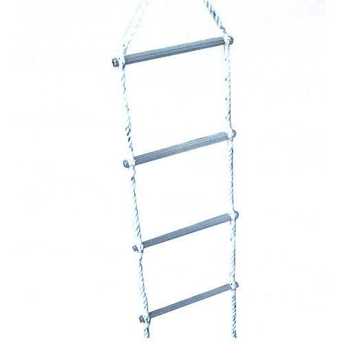Rope And Aluminum Rung Ladder