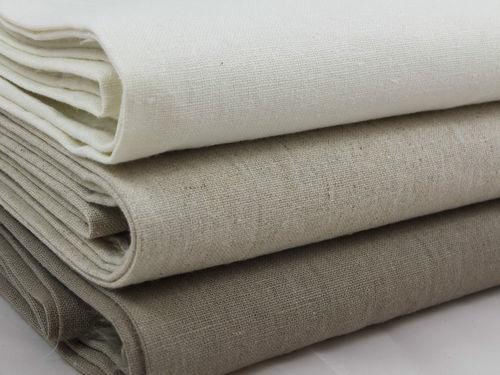 Heavy Woven Linen Fabric