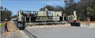 S1500 Multi Lane Concrete Slipform Paver