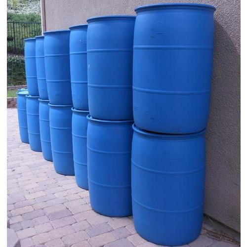 50-100 Litres Capacity Plastic Barrel For Water