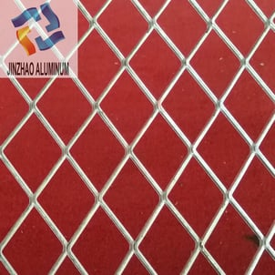 Expanded Aluminum Wire Mesh