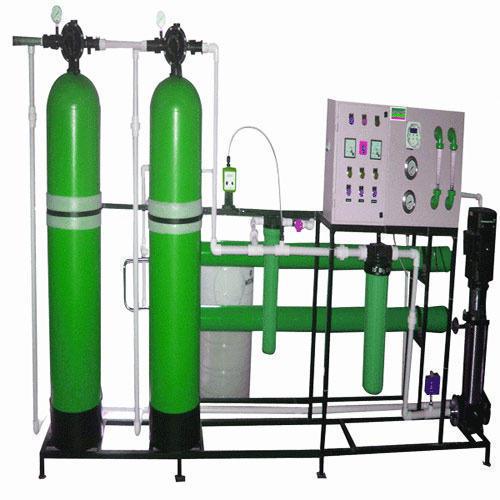 Automatic Ion Exchange Plant