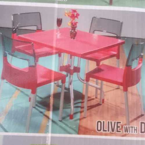 Fiber Dining Table Set At Best Price In Hyderabad Telangana Woofit Furnitures