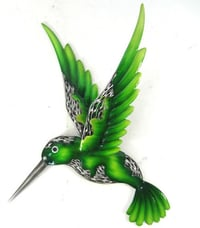 Iron Crafts Hanging Decoration Bird Home Wall Metal Plaque Ornaments