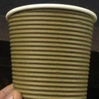 Disposable Rippled Paper Cups