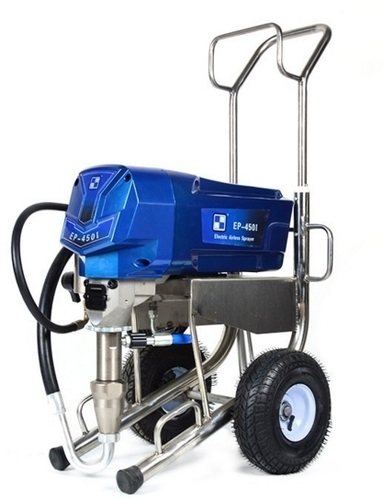 High Pressure Electric Piston Pump Airless Paint Sprayer at