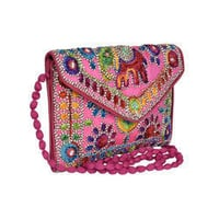 Best Quality Embroidery Ladies Bag