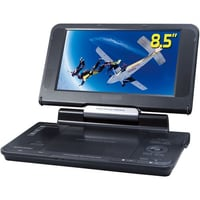 DVD Player with Car Headrest Mounting Bracket