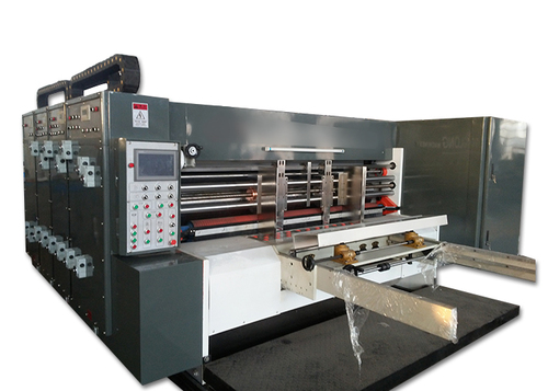 Flexo Printing Slotting Die Cutting Machine For Corrugated Cardboard Box