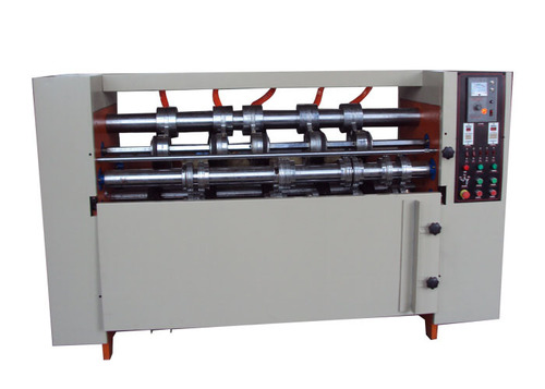 Thin Blade Slitter Scorer Machine , Corrugated Cardboard Slitting Machine