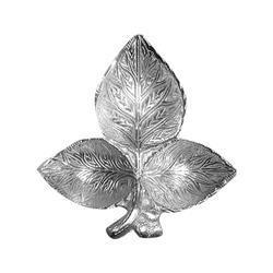 Silver Color Decorative Leaves