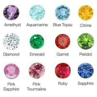 Colored Gems Stones