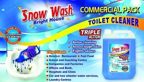 Snow Wash Bathroom Cleaner