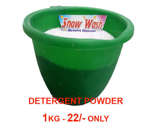 Snow Wash Organic Detergent Powder