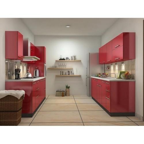 Back To Back Modular Kitchen Cabinets