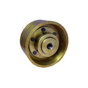 C.I Brake Drum with Gear Coupling