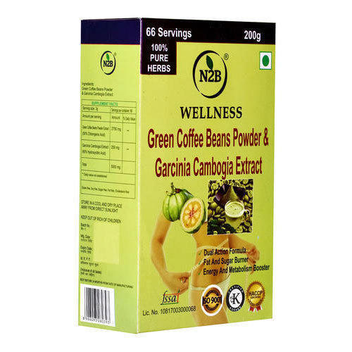 200 G Green Coffee Powder And Garcinia Cambogia At Best Price In