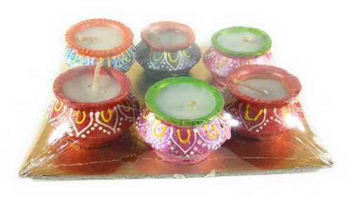 Clay Handi Wax Diya