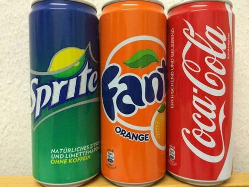 Coca Cola, Fanta, Sprite Cold Drinks