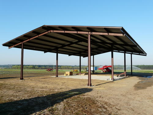 Water Proof Steel Shed Shelter