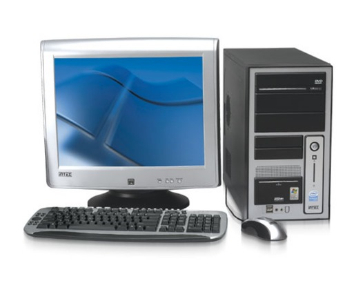 Basic PC Desktop Computer
