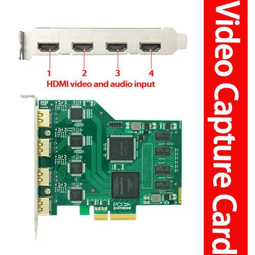 Pro Quad HDMI Video Conference Capture Card
