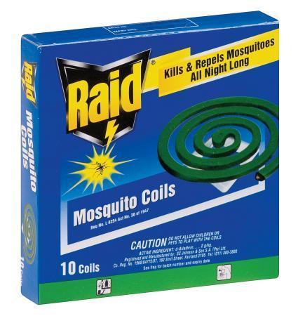 Raid Mosquito Repellent Coils