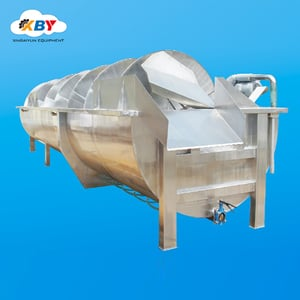 Screw Water Cooling Machine For Poultry Abattoir Machinery