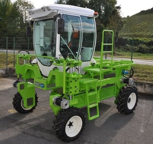Green Color Electric Tractor
