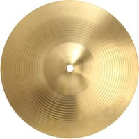 Golden Color Musical Cymbal
