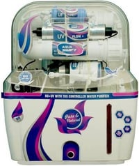 Aquagrand Red Swift 12 L RO + UV + UF + TDS Water Purifier (White And Red)