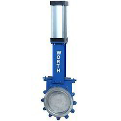Cs / Ss Pneumatic Knife Gate Valve