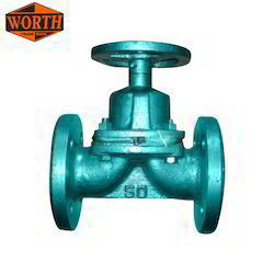 Flange End Ci Diaphragm Valve